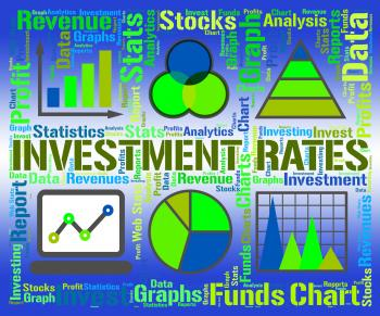Investment Rates Represents Invested Percent And Percentage