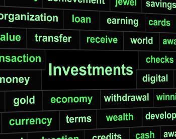 Investments Invest Indicates Portfolio Roi And Investing