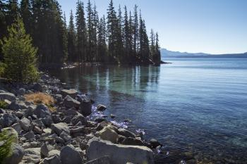 Islet Bay, Waldo Lake, Oregon
