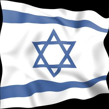Israel Flag Indicates Middle East And Countries
