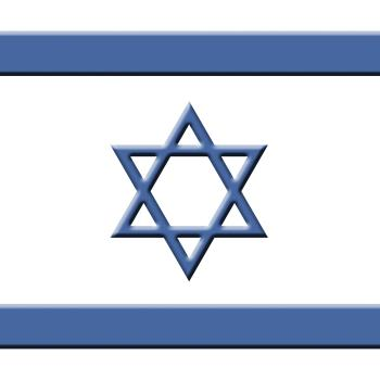 Israel Flag Indicates Middle East And Destination