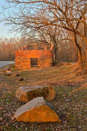 Jarboe's Sunset Store Ruins - HDR