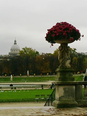 Jardin de luxembourg in Paris