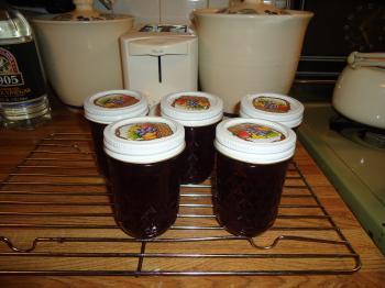 Jars of Grape Jelly