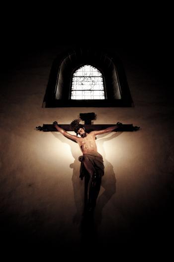 Jesus on cross