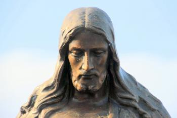 Jesus Portrait - Sculpture