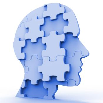 Jigsaw Head Represents Plans Person And Piece
