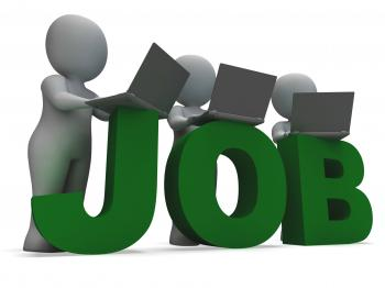 Job Online Showing Web Employment Search