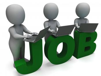 Job Online Shows Web Employment Search