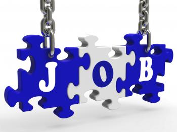 Job Shows Work Careers Employment And Occupation