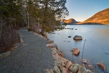 Jordan Pond Trail - HDR