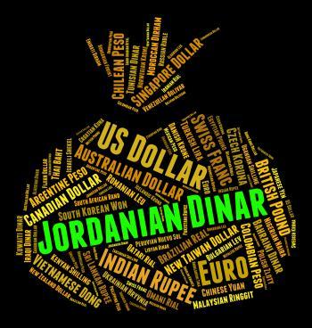 Jordanian Dinar Represents Forex Trading And Banknote