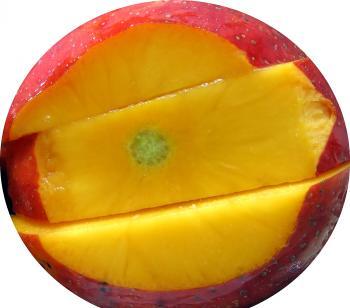 Juicy Red Mango