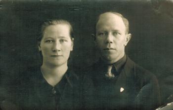 Katri Aliina Honkanen e. Kiiskinen (1909–1991) ja Matti Honkanen (1904–1966)