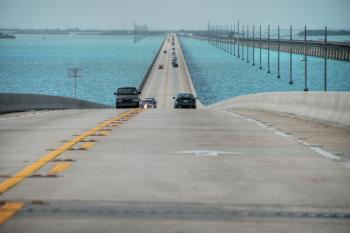 Keys Islands Interstate, Florida, Januar
