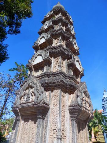 Khmer-style pagoda