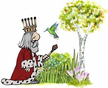 King in the Garden