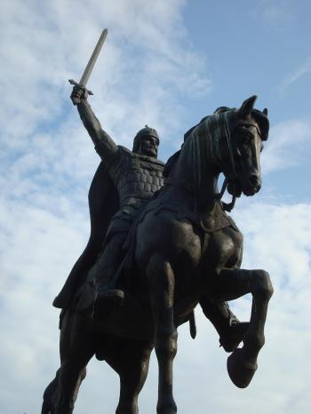 King Kaloyan monument - Bulgaria