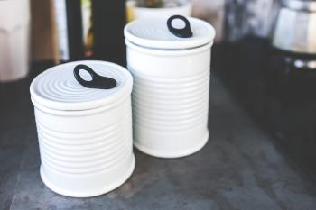 Kitchen ceramic jars