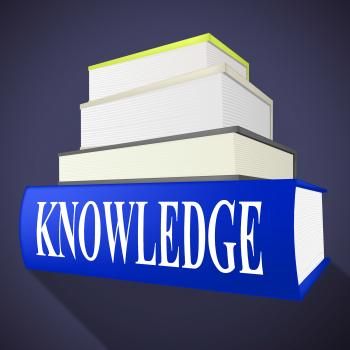 Knowledge Book Means Textbook Understanding And Books