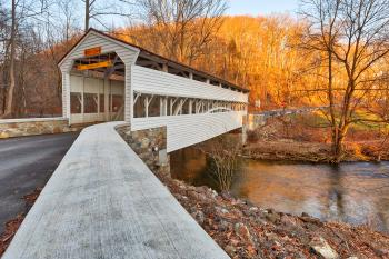 Knox Covered Bridge - HDR