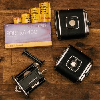 Kodak Porta 400 With Black Cases
