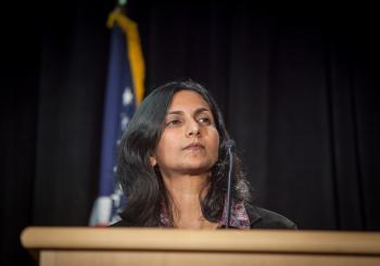 Kshama delivering her Inauguration Speech