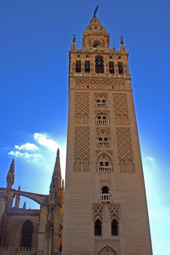 La Giralda tower in Seville, Spain