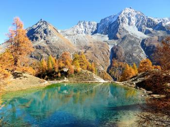 Lac bleu – Arolla