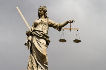 Lady Justice at Dublin Castle