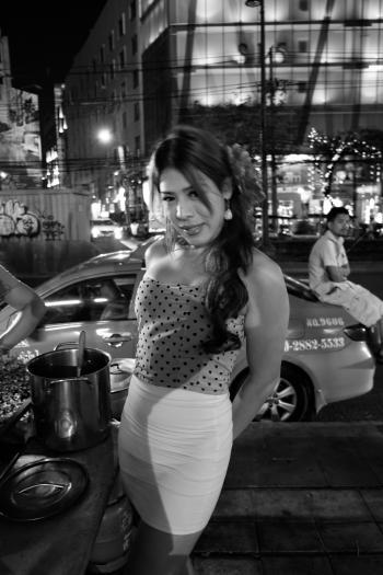 Ladyboy in Sukhumvit Road, Bangkok