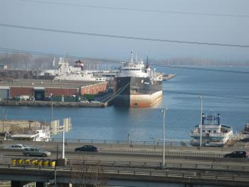 Lake freighter Quebecois