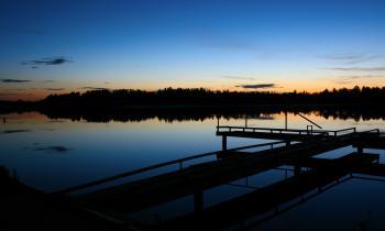 Lake Night Scene