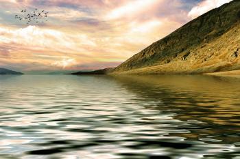 Lake Rendering - 3D Landscape
