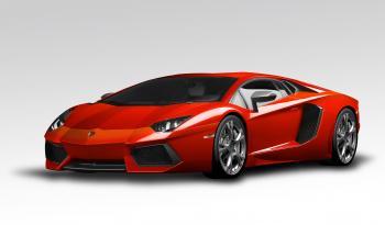 Lamborghini Aventador Red
