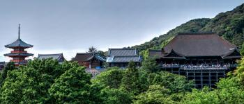 Landscape Photo of Asian Buildings