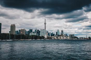 Landscape Photo of City Skyscraper