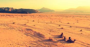 Landscape Photography of Desert Ground at Daytime