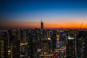 Landscape Photograpy of City during Night