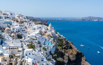 Landscape View of Greece during Day Time