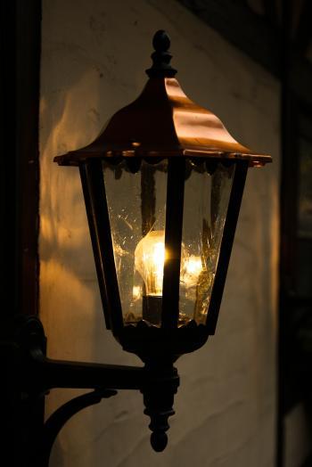 Lantern at Night