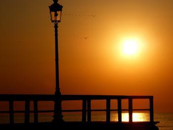 Lantern on the Dock