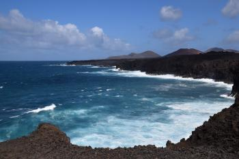 Lanzarote, typical seascape