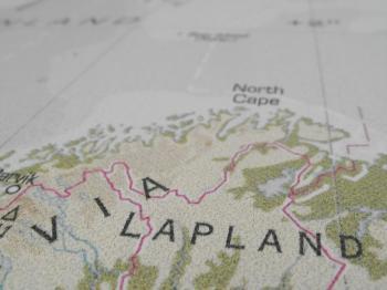 Lapland Map