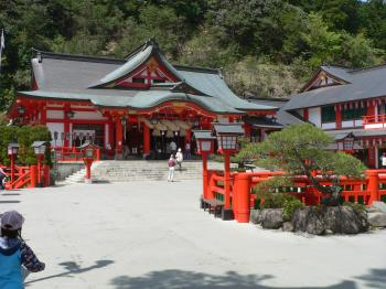 Large Japanese Buddhist Mount Temple Complex