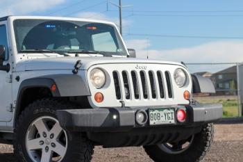 Larimer County Sheriff's Jeep Wrangler