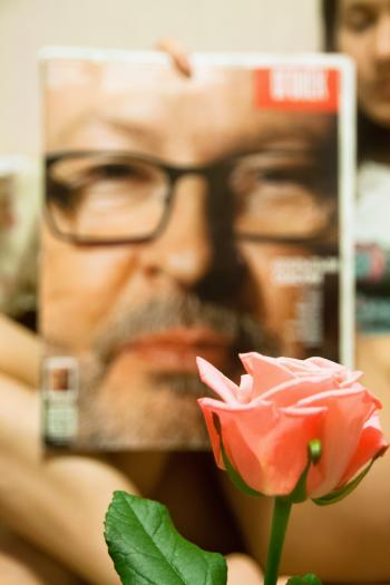 Lars Trier's Nose smells rose