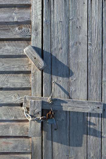 Latch on Door