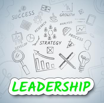 Leadership Ideas Represents Concepts Choices And Consider