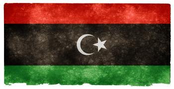 Libya Grunge Flag